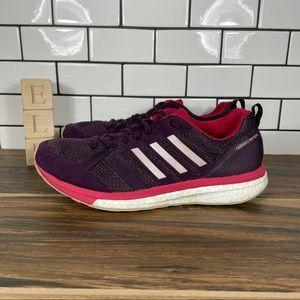 adidas Adizero Tempo 9 Suede & Mesh Running Shoes